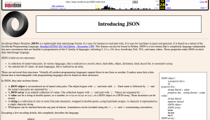 JSON.org - JavaScript Obstacles
